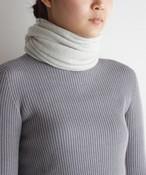 手編み機で編んだ カシミヤ100%の【スヌード】8色 CAA-044