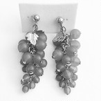 """AVON"" Frosted Grapes earring[e-706]"