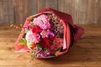 【プレゼントにぴったり】花束/レッド&ピンクブーケ