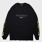 "【9月30日受注予約開始】""manipulation""Long Sleeve(Lime)"