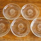 ひまわりのガラス皿
