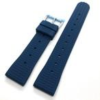 ヴィンテージ ワッフル(地獄の黙示録:マーティン・シーン着) 復刻ラバーベルト ペトロール 20mm 腕時計ベルト