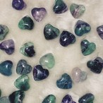 Heart shaped Fluorite of LOVE