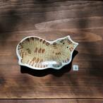 katakata 印判手豆皿(トラ猫)