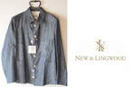 【Sold Out】ニューアンドリングウッド|NEW AND LING WOOD|ジャケット|36