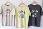 CUBE SUGAR「天竺 ピグメントバイオ 半袖 タイト クルーネック Tシャツ」