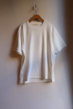 THE HINOKI オーガニックコットン ハーフスリーブTシャツ WHITE #19S-24