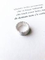 Mesh silver ring (メッシュシルバーリング)