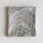 インドの布《木版ハンカチNo.20》 インド綿ボイル マーブル グリーン