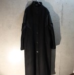 Dolman sleeve design wool coat