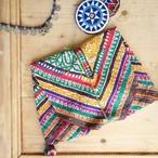 ラバリ族 vintage 刺繍バック