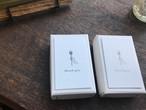 【活版印刷】Thank you card box ブラック / ブロンズ(カード7種アソート30枚入り)※主にイベントで販売しております商品です。次回のカート追加は未定です。