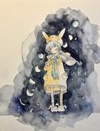 """ポストカード""""月の音色"""""""