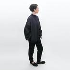 受注制/倉敷デニム/大ぶりタックパフスリーブブルゾン/JK-1