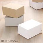 ギフトボックス M50 角留め箱 深口 100×75×52mm 1個