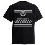 パグ輪つなぎTシャツ【ブラック】