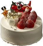 【店頭お渡しのみ】【送料無料】クリスマスケーキ フレーズシャンティー 4号(12㎝)