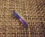 蛍石 紫 六角柱