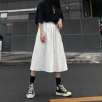 ロングホワイトスカート / HWG262