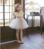 ガーリー 女の子用 子供服 フリル ひらひら ワンピース ブルー ピンク かわいい かわいい系 姫系 ロリータ系 お嬢様
