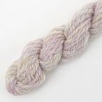 シルクメリノ薄ピンク系ツイード ゲージ用サンプル糸(silk_M12)手紡ぎ毛糸オーダー(送料込)