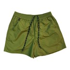 ELASTIC BAGGIES SHORTS / OliveGreen