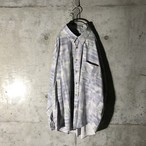 [used] pale purple designed shirt