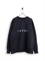 Original Sweatshirt / stencil / black