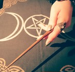 サンダルウッドのワンド 魔法の杖