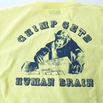 Smile Chimp T-shirts LIGHT YELLOW