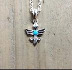 YONZY Phoenix Necklace SV small ターコイズ