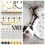 Smile×Smile スマイル×スマイル A3サイズ(ポーセリンアート用転写紙)