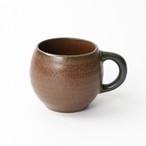 【SL-0102】磁器 タルマグカップ チョコブラウン