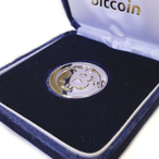 純銀Bitcoinシルバー  / Pure Silver Bitcoin (rhodium plating)