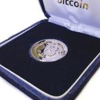 純銀Bitcoinシルバー  / Pure Silver Bitcoin (rhodium plating)
