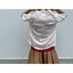 【hippiness】cupro wide Tshirt (white)/【ヒッピネス】キュプラ ワイド Tシャツ(ホワイト)
