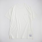 THE INOUE BROTHERS/Pochet T-shirt/White