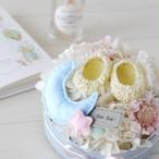 Lサイズ登場★ベビーシューズとお花のパステルパレット【Lサイズ】 Pastel Palette