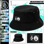 D5512050 ボルコム メンズ 帽子 バケットハット キャップ ストーンロゴ ブラック 黒 MBLXVLCM BUCKET HAT VOLCOM