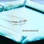 ネックレス ハーキマーダイアモンド 14KGF