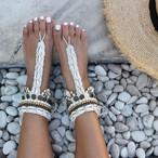 Shell Design Anklet