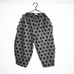 DOTS SCALLOPED BIG PANTS / WOMEN