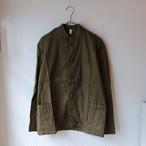 【デッドストック】チェコ軍50's マオカラーワークジャケット