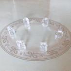 ロッククリスタルクォーツ 結界用ポイント水晶 6個セット