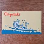Chigasaki Surf Gir  ステッカー