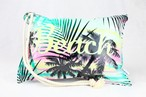 Pillow Bag (plumpillow purse)【Beach Gradation】まくら×ポーチ アウトドア