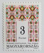 刺繍 3F  / ハンガリー 1995