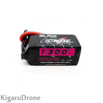 【4S 1300mAh Lipo】CNHL BLACK SERIES 1300MAH 14.8V 4S 100C LIPO BATTERY with XT60 コネクター