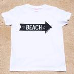 MIYAKOJIMA BEACH ➡︎ Tシャツ  White×Black