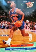 NBAカード 92-93FLEER John Battle #33 CAVALIERS